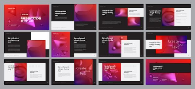Business presentation layout design template  concept