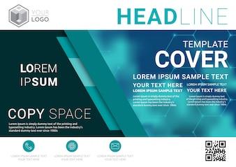 Business Presentation layout design template.