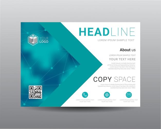 ิbusiness presentation layout design template.
