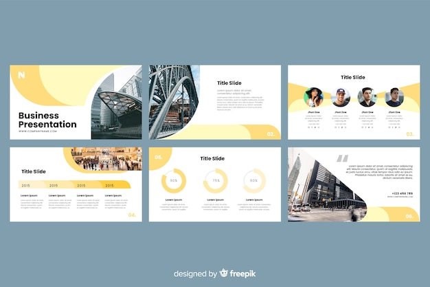 Powerpoint Presentation Vectors Photos And Psd Files Free