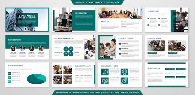 Дизайн шаблона бизнес-презентации
