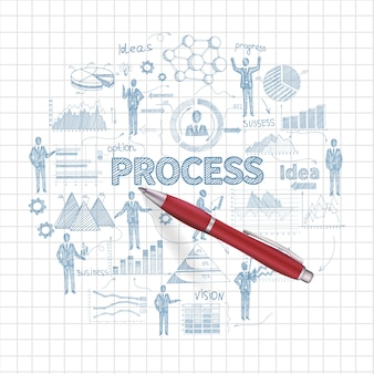 Business process concept