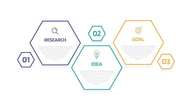 Инфографический шаблон бизнес-процесса с вариантами или шагами. современный бумажный макет с тонкой линией. иллюстрация графика.