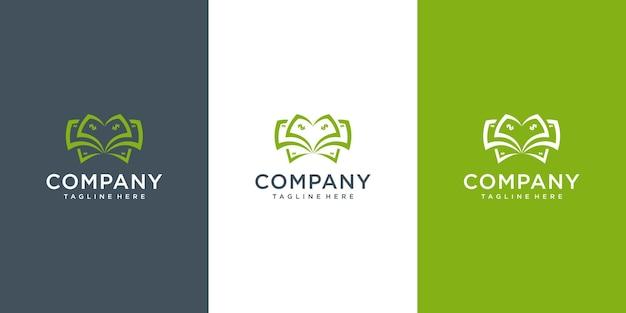 金融ロゴ投資のための手のアイコンベクトルデザインとビジネス利益メーカーのお金のドル