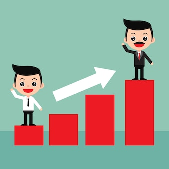 Business profits concept