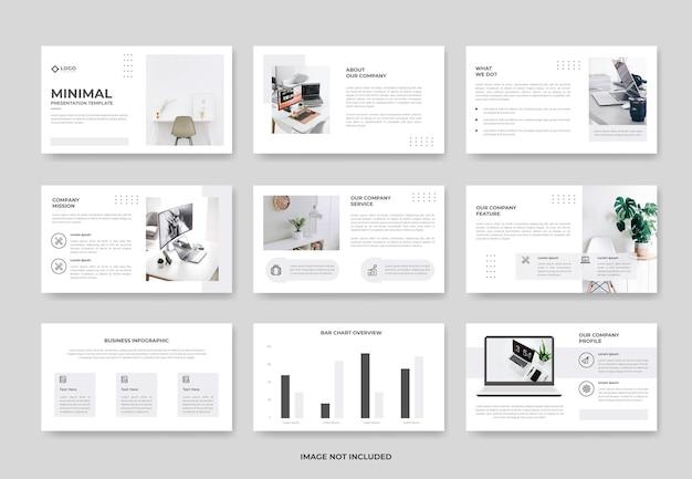 비즈니스 프로젝트 제안 프레젠테이션 슬라이드 템플릿 또는 기업 powerpoint 템플릿