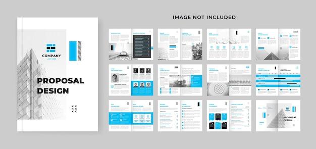 Business proposal design for digital marketing agency
