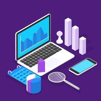 Баннер бизнес-исследования. творческие люди ищут