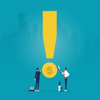 비즈니스 리스크 분석 리스크 관리 및 재무 식별 금융 투자 및 리스크