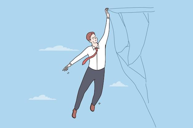 비즈니스 위험 및 위기 개념
