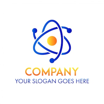 Business science company logo