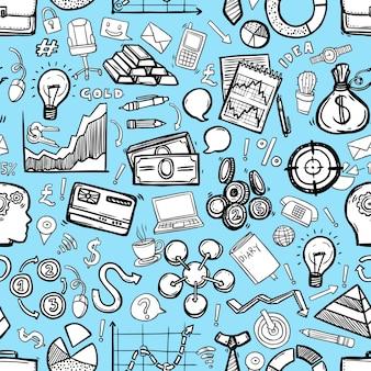 ビジネスのシームレスパターン