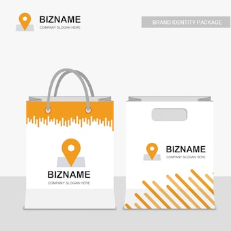 Business shopping bag
