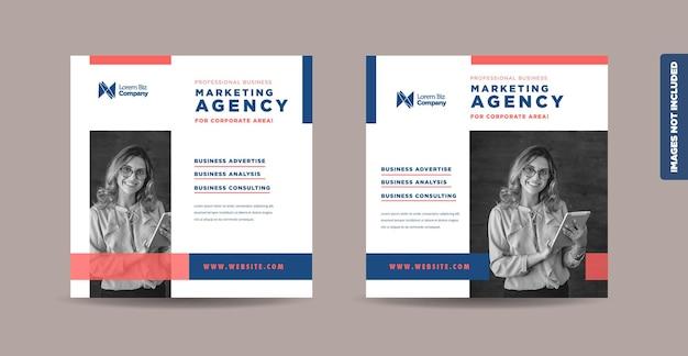 Business social media post design or website product banner design or web advert design