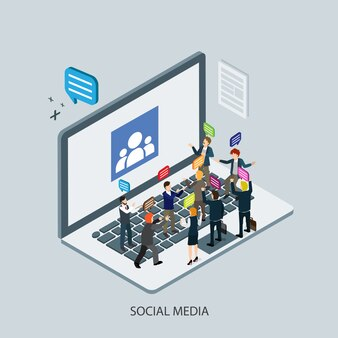 Business social media technology