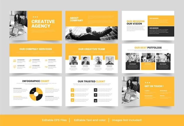 사업 시작 또는 사업 시작 powerpoint 프레젠테이션 디자인