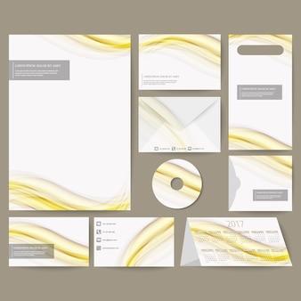 Дизайн бизнес канцелярские