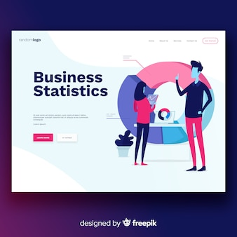 Business statistics landing page