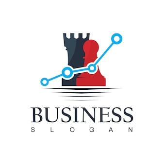 Business strategy logo