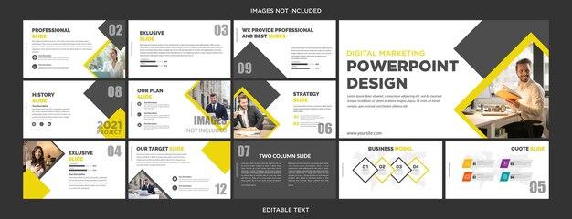 사업 전략 발표 디자인