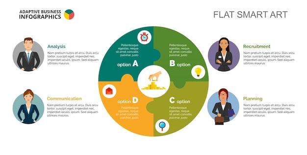 Шаблон бизнес-стратегии slide
