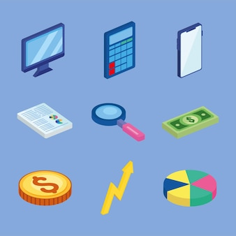 Business symbol collection
