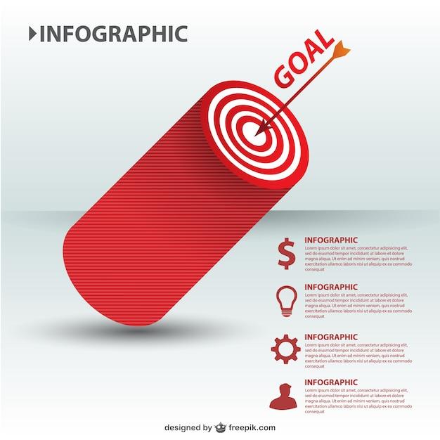 사업 대상 infographic 벡터