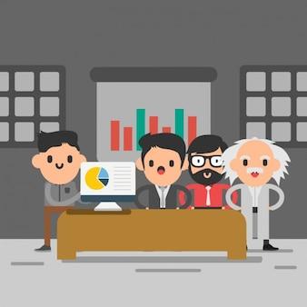 Business team design