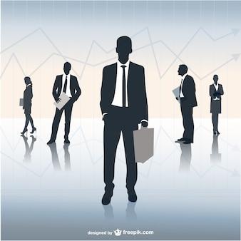 Бизнес-группа иллюстрация