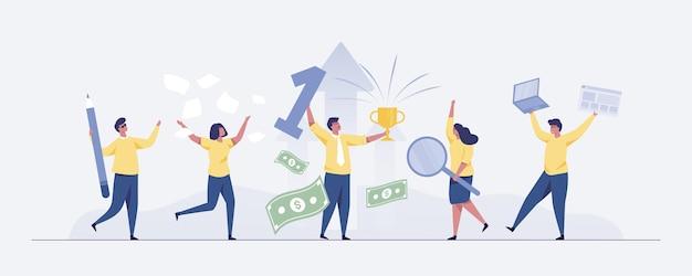 Концепция успеха бизнес-команды