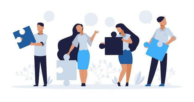 Бизнес-концепция совместной работы