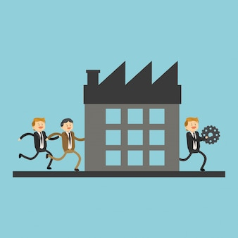 Командная работа в бизнесе для компании