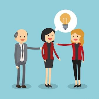 Бизнес-взаимодействие с идеями