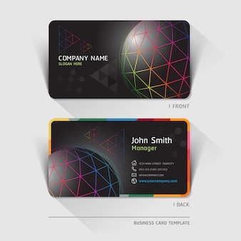 Business technology card