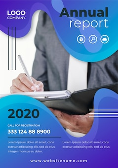 Business template annual report