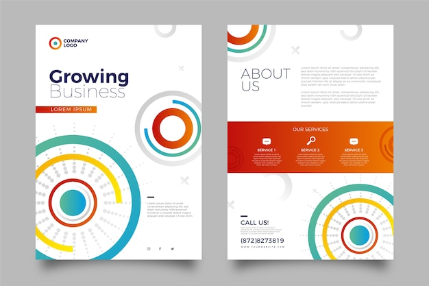 Business template style