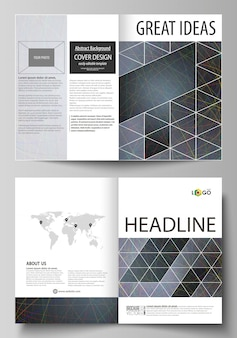 Business templates for bi fold brochure
