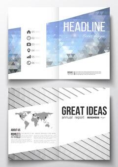 Бизнес-шаблоны для брошюры