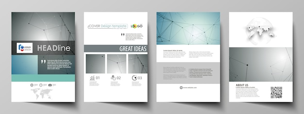 Business templates set