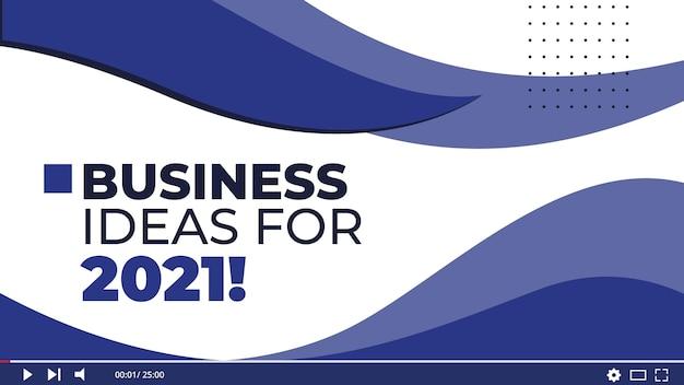 Business thumbnail template