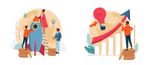 Business venture and new idea