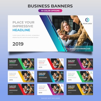 Business web banner design 07