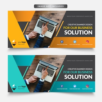 Business Web Banner Design-Banner Design Template