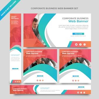 Business web banner tempalate