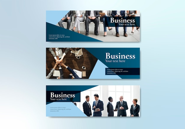 Business web page template