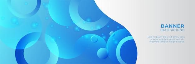 비즈니스 웨비나 가로 배너 디자인입니다. 어두운 파란색과 흰색 배경색과 사진을 위한 장소가 있는 현대적인 배너 디자인. 배너, 표지 및 헤더에 사용할 수 있습니다.