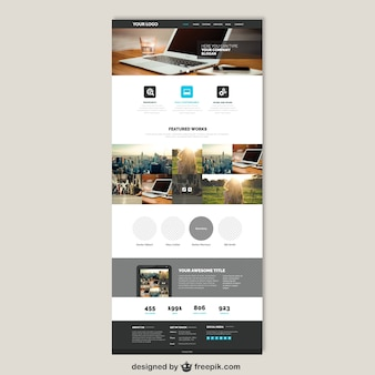 Website vectors photos and psd files free download business website template accmission Gallery