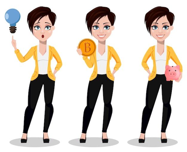 Business woman, freelancer, banker