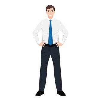 Иллюстрация бизнесмена