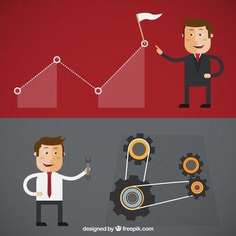 Бизнесмен иллюстрация
